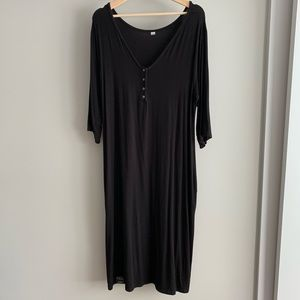 Black House Dress from MilkMaid Goods in black XXL